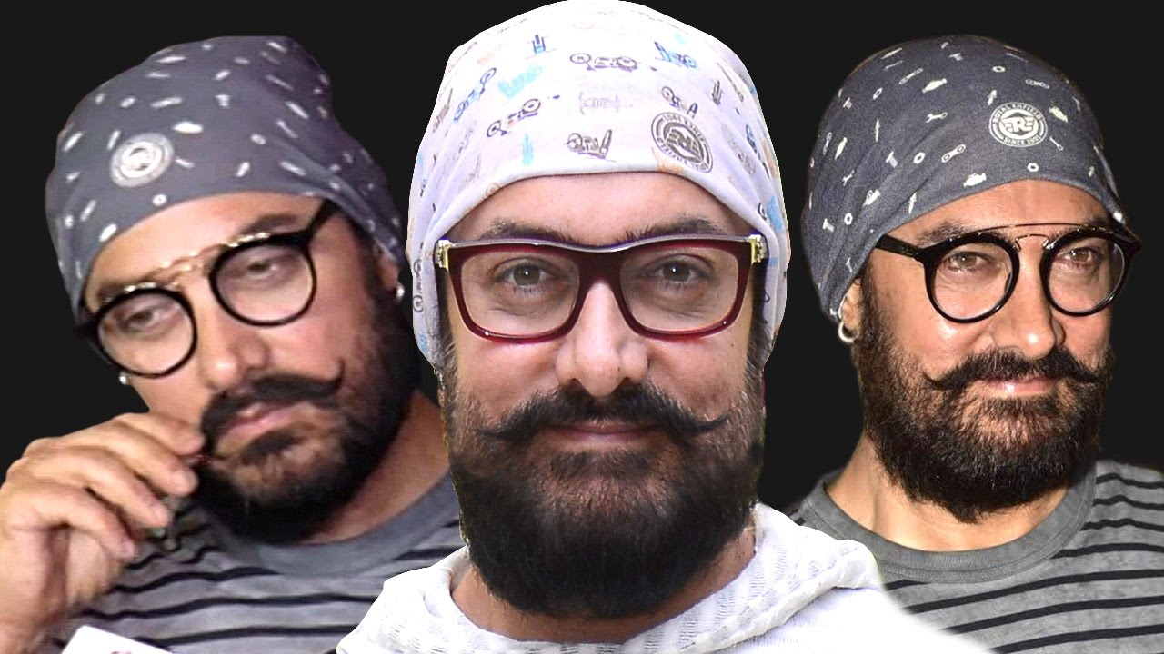 Aamir Khan's latest look