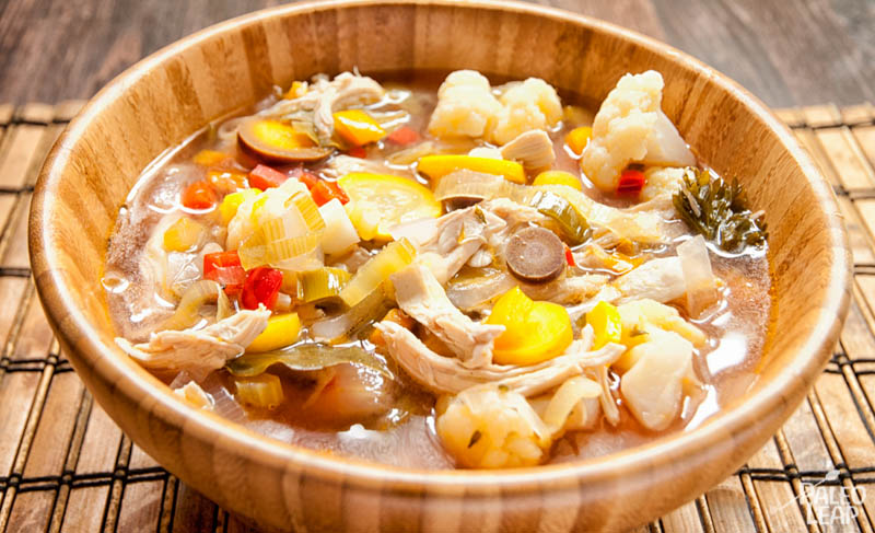 chicken soup-vegetable-soup