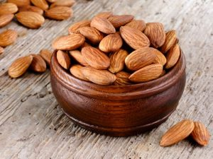 almonds-nutrition-protein rich food