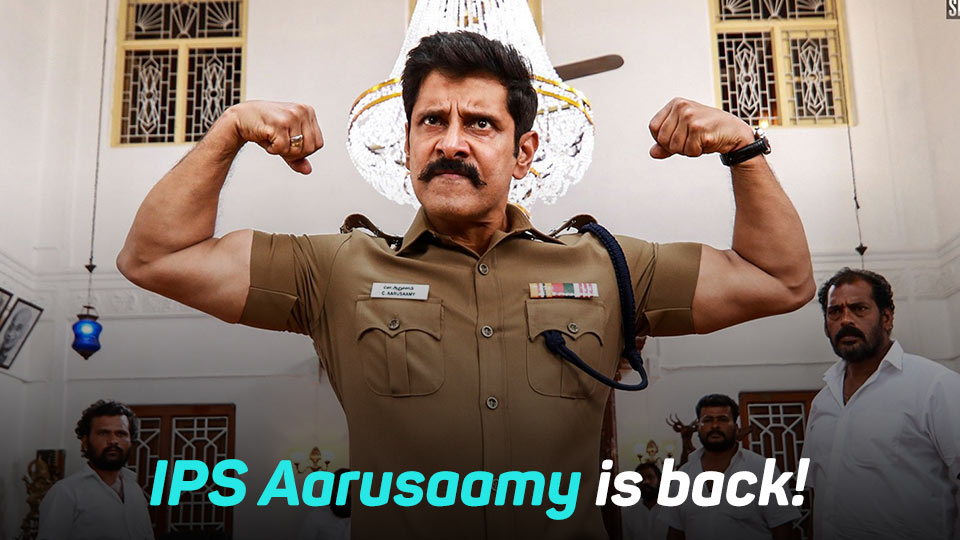 Saamy 2, Saamy Square, Saamy, Saamy 2 Movie Review, Saamy Square Movie Review, Aarusaamy, Ram Saamy, Perumal Pitchai, Ravana Pitchai, Vikram, Hari, Keerthy Suresh, Bobby Simha, Kota Srinivasan, Soori,