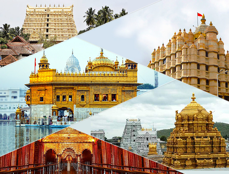 Top 10 Richest Temple, Richest Temple, Richest Temple in India, Top 10 Richest Temple in India, Richest Temples, Temples to visit, Temples to Visit in India, Padmanabhaswamy Temple, Venkateshwara Temple, Shirdi Saibaba Temple, Siddhivinayak Temple, Golden Temple, Vaishno Devi Mandir, Meenakshi Amman Temple, Jagannath Temple, Somnath Temple, Kashi Vishwanath Temple