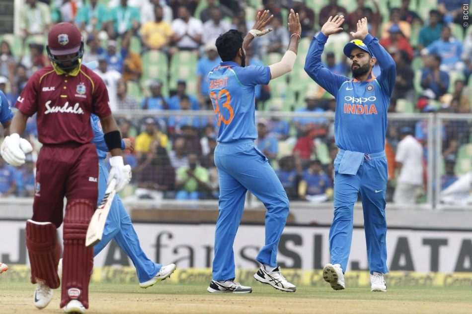 India vs West Indies 5th ODI, bcci, ind vs wi 2018, ind vs wi live score, india vs west indies, msd,odi odiRemove term: virat kholi, Mahendra Singh Dhoni, live score of ind vs wi, ind vs wi odi score, 5th odi live score