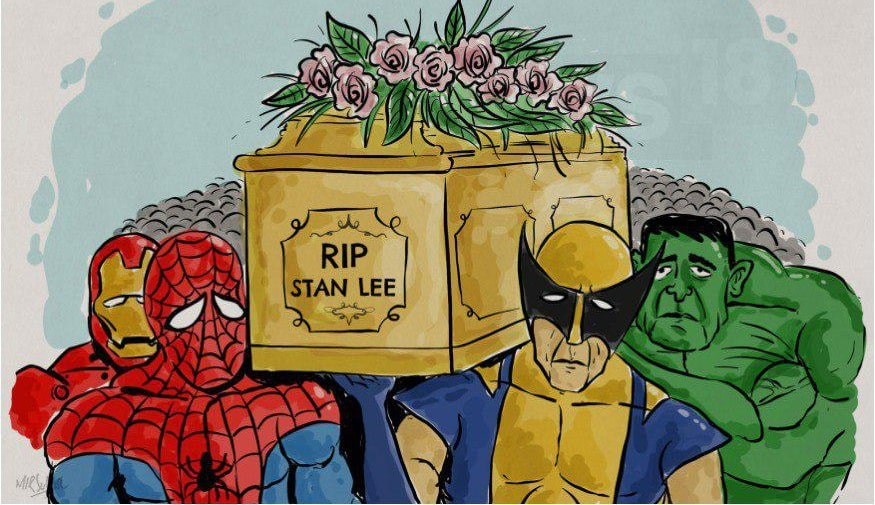 marvelcomics,writer,publisher,stan lee,marvel,superheroes,captain america, spider man,iron man,cameo,hulk,avengers, stanlee, RIP Stan Lee,