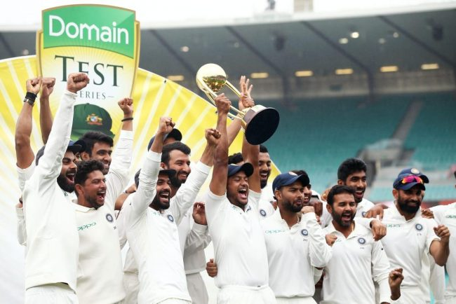 India Vs Australia Series - India Won a Historic Victory!! | tea-talk.in