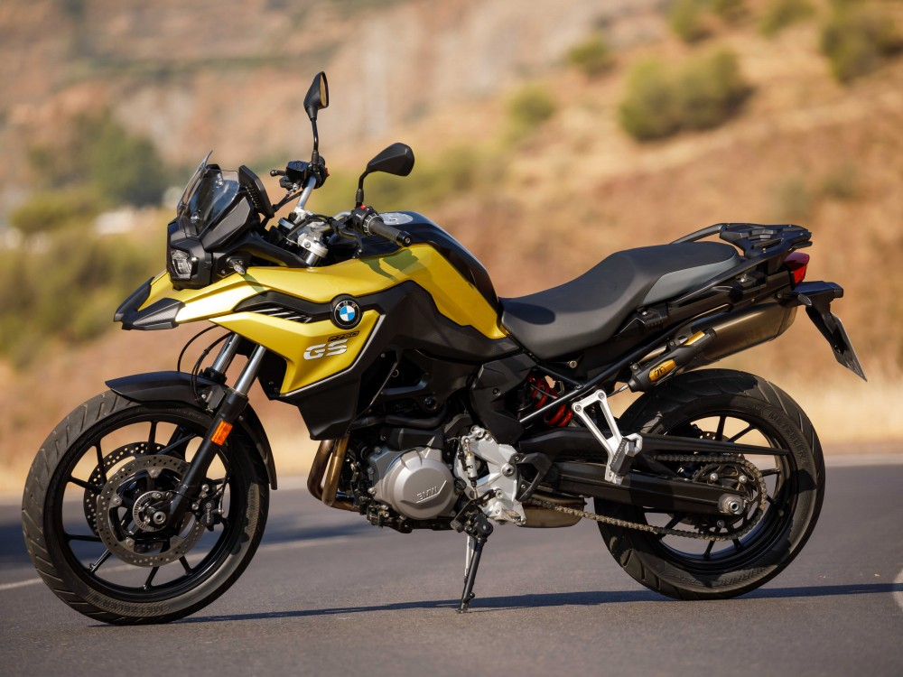 Bmw 850 Gs >> New BMW Bike arrives – BMW F750 GS | TeaTalk