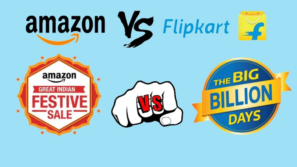 filpkart,amazon,big billion days,great indian sale,electronics,electronic appliances,lifestyle,fashion,kitchen items,automobile parts,Amazon great indian festival vs flipkart Big billion days